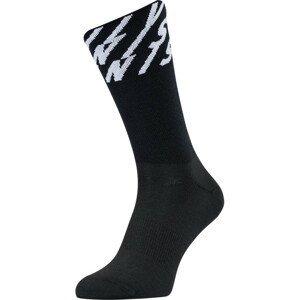 Ponožky Silvini Oglio Velikost ponožek: 36-38 / Barva: černá/bílá