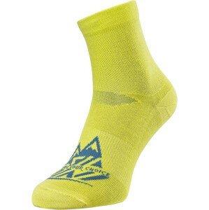 Ponožky Silvini Enduro Orino Velikost ponožek: 42-44 / Barva: žlutá