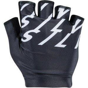 Pánské cyklistické rukavice Silvini Sarca Velikost rukavic: XL / Barva: černá/bílá