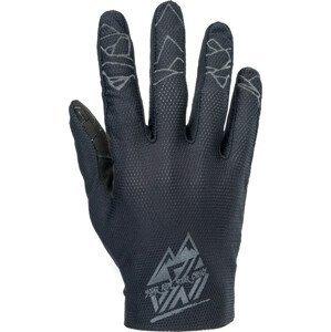 Pánské enduro rukavice Silvini Gerano Velikost rukavic: XL / Barva: černá
