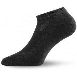 Ponožky Lasting ARA Velikost ponožek: 34-37 / Barva: černá