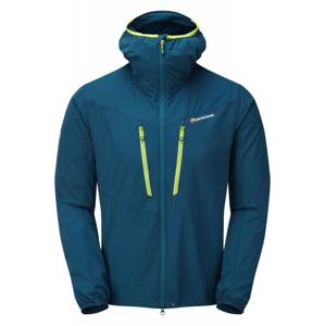 Pánská bunda Montane Alpine Edge Jacket Velikost: XXL / Barva: modrá