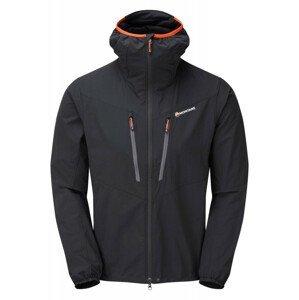 Pánská bunda Montane Alpine Edge Jacket Velikost: M / Barva: černá