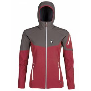 Dámská bunda High Point Atom Lady Hoody Jacket Velikost: L / Barva: červená