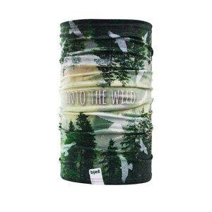 Bjež Multifunkční šátek BJEŽ Barva: zelená