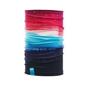 Bjež Multifunkční šátek BJEŽ Barva: červená/modrá
