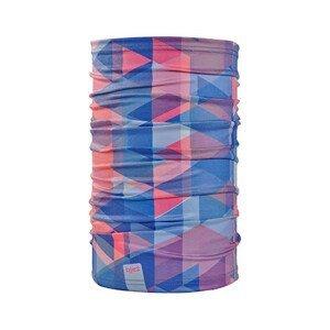 Bjež Multifunkční šátek BJEŽ Barva: růžová/fialová