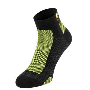 Cyklistické ponožky R2 Easy Velikost ponožek: 39-42 / Barva: černá
