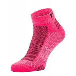 Cyklistické ponožky R2 Easy Velikost ponožek: 39-42 / Barva: růžová