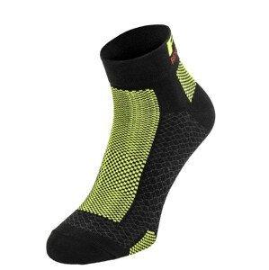 Cyklistické ponožky R2 Easy Velikost ponožek: 43-46 / Barva: černá