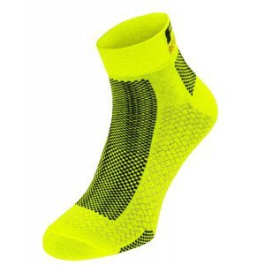 Cyklistické ponožky R2 Easy Velikost ponožek: 43-46 / Barva: žlutá