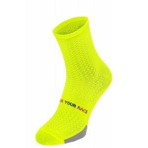 Cyklistické ponožky R2 Endurance Velikost ponožek: 43-46 / Barva: žlutá