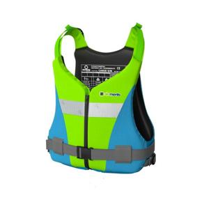 Plovací vesta Elements Gear Canoe Plus Velikost: XXXL / Barva: zelená/modrá
