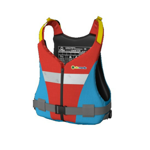 Plovací vesta Elements Gear Canoe Plus Velikost: XXXL / Barva: červená/modrá