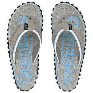 Žabky Gumbies Cairns Light Blue Velikost bot (EU): 38 / Barva: modrá/šedá