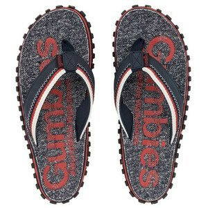 Žabky Gumbies Cairns Velikost bot (EU): 41 / Barva: červená/tm.šedá