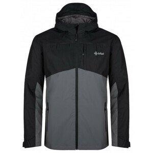 Pánská bunda Kilpi Orleti-M Velikost: L / Barva: černá/šedá
