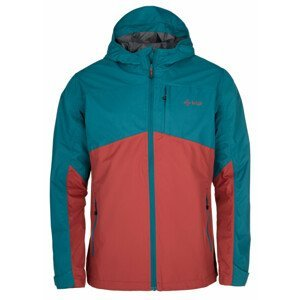 Pánská bunda Kilpi Orleti-M Velikost: XXL / Barva: červená/modrá
