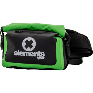 Voděodolná ledvinka Elements Gear W-BAG 4 l Barva: černá/zelená