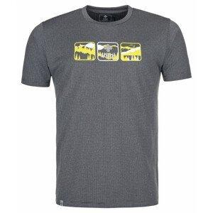 Pánské triko Kilpi Giacinto-M Velikost: XL / Barva: šedá