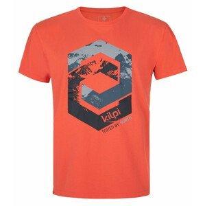 Pánské triko Kilpi Hatler-M Velikost: L / Barva: červená