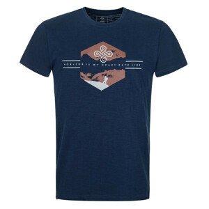 Pánské triko Kilpi Ferne-M Velikost: L / Barva: modrá
