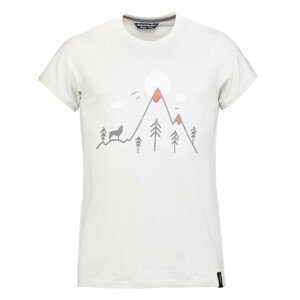 Pánské triko Chillaz Howling Wolf Velikost: S / Barva: světle šedá