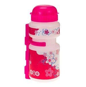 Dětská lahev Just One One Smile Barva: růžová