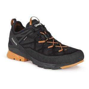 Pánské boty Aku Rock DFS Gtx Velikost bot (EU): 46,5 / Barva: černá/oranžová