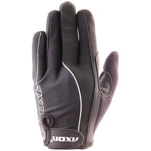Cyklistické rukavice Axon 505 Velikost: L / Barva: černá