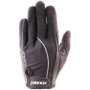 Cyklistické rukavice Axon 505 Velikost: XXL / Barva: černá