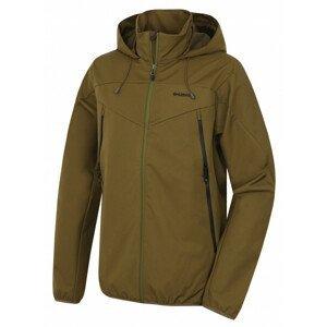 Pánská bunda Husky Sonny M Velikost: L / Barva: zelená