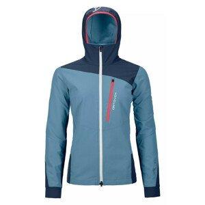 Dámská bunda Ortovox Pala Jacket W Velikost: S / Barva: modrá