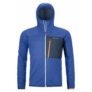 Pánská bunda Ortovox Swisswool Piz Duan Jacket M Velikost: L / Barva: modrá