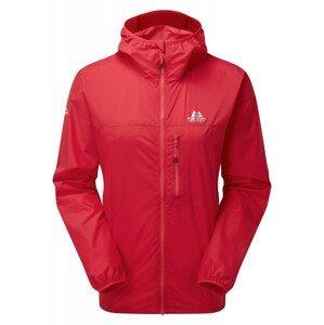Dámská bunda Mountain Equipment Aerofoil Full zip Wmns Jacket Velikost: L / Barva: červená