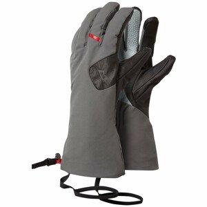 Rukavice Mountain Equipment Direkt Gauntlet Velikost rukavic: M / Barva: šedá/černá