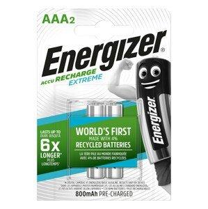 Nabíjecí baterie Energizer AAA / HR03 - 800 mAh Extreme Duo Barva: stříbrná