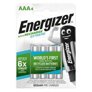 Nabíjecí baterie Energizer AAA / HR03 - 800 mAh Extreme 4ks Barva: stříbrná