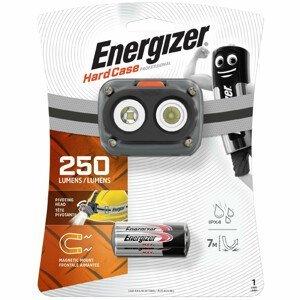 Čelovka Energizer Hard Case Pro LED 250 lm Barva: šedá