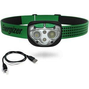 Nabíjecí čelovka Energizer Vision Ultra LED 400lm USB Barva: zelená