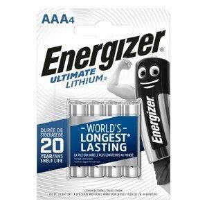 Baterie Energizer Ultimate lithium AAA/4 Barva: stříbrná