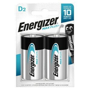 Baterie Energizer Max Plus velký monočlánek D Barva: stříbrná