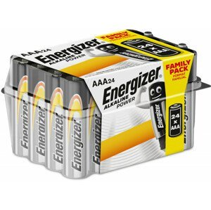 Baterie Energizer Alkaline power Family Pack AAA/24 Barva: stříbrná
