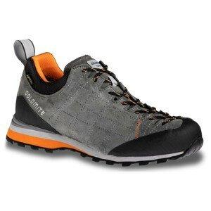Pánské boty Dolomite Diagonal GTX Velikost bot (EU): 46,5 / Barva: šedá/oranžová