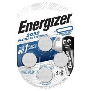 Lithiová knoflíková baterie Energizer Ultimate CR2032 4pack Barva: stříbrná