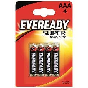 Baterie Energizer Eveready super AAA/4pack Barva: černá