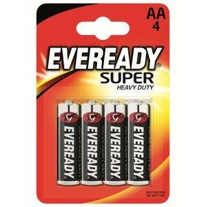 Baterie Energizer Eveready super AA/4pack Barva: černá