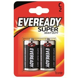 Baterie Energizer Eveready super monočlánek C Barva: černá