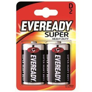 Baterie Energizer Eveready super monočlánek D Barva: černá