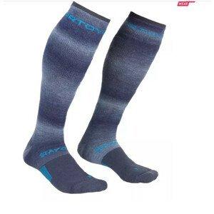 Pánské ponožky Ortovox Ski Stay Or Go Socks Velikost ponožek: 42-44 / Barva: modrá